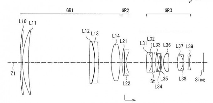Sony-FE-500mm-f4-GM-Lens-Patent