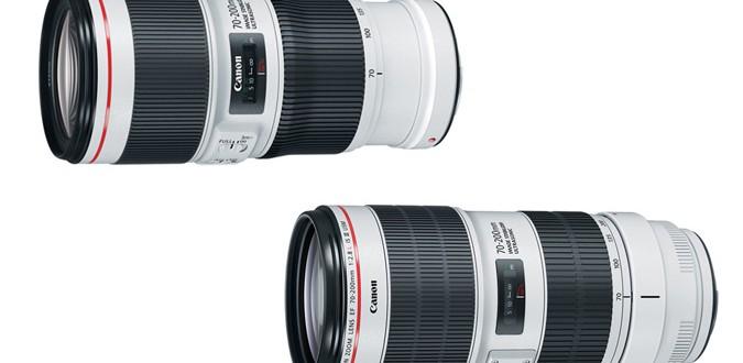 New Canon EF 70-200mm Lenses
