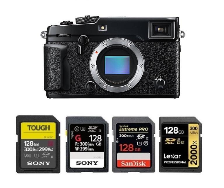 Fujifilm X-Pro2 Digital Camera Memory Card 2 x 32GB Secure Digital High Capacity 2 Pack SDHC Memory Cards