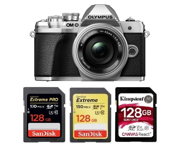 Best Memory Cards for Olympus OM-D E-M10 Mark III | Camera Times
