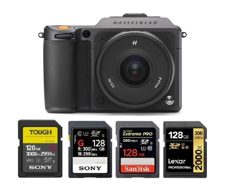 Best Memory Cards for Hasselblad X1D II 50C   Camera Times