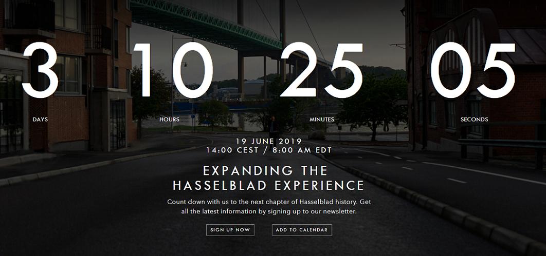 Hasselblad X1D Mark II Medium Format Mirrorless Camera to be