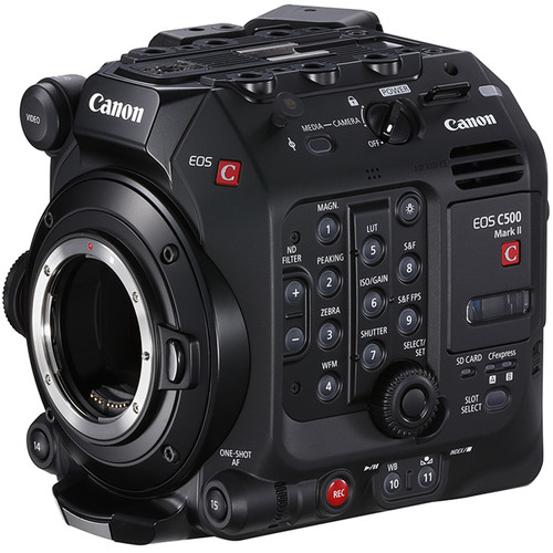 Canon EOS C500 Mark II Cinema Camera Officially Announced