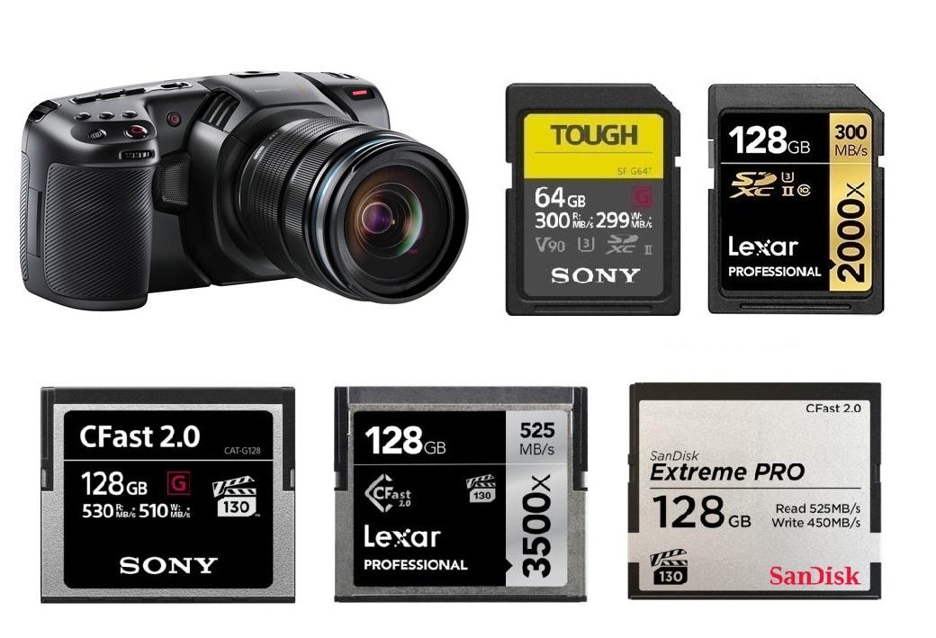 Best Memory Cards For Blackmagic Design Pocket Cinema Camera 4k Camera Times