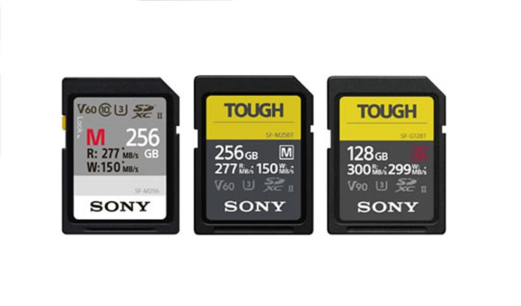 Applicable SD Cards